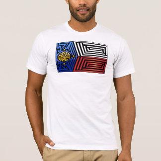 Bandera loca #243 camiseta