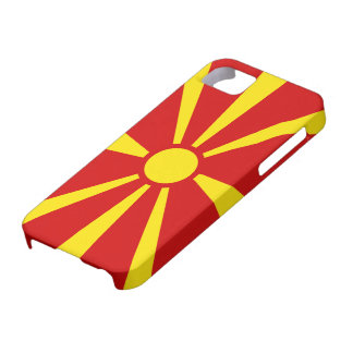 Bandera Macedonia - Funda / Carcasa iPhone 5/5S