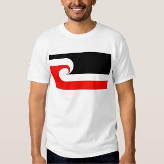 Bandera maorí camisas