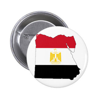 Bandera/mapa de Egipto Chapa Redonda De 5 Cm