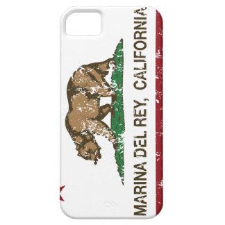 Bandera Marina Del Rey de la república de Californ iPhone 5 Case-Mate Cárcasas