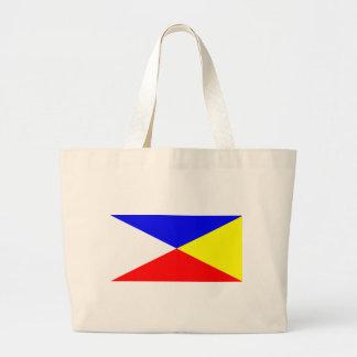 Bandera maya bolsa tela grande