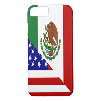 Bandera mexicana-americano funda iPhone 7