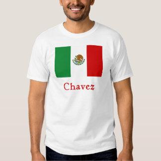 Bandera mexicana de Chavez Camiseta