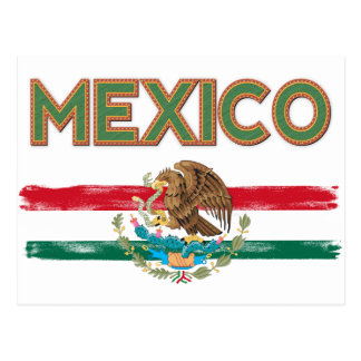 Bandera mexicana de México Postal