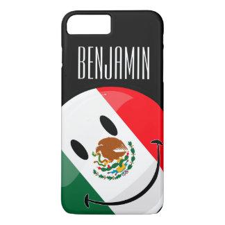 Bandera mexicana sonriente funda iPhone 7 plus