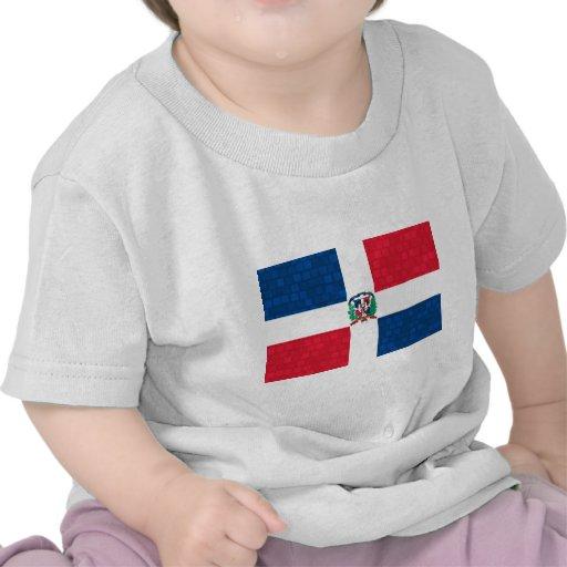 Bandera moderna del Dominican del modelo Camisetas