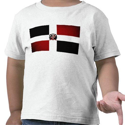 Bandera monocromática de la República Dominicana Camisetas