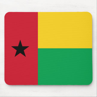 Bandera Mousepad de Guinea-Bissau