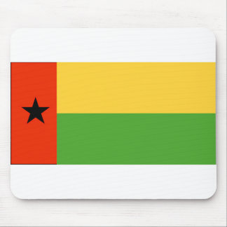 Bandera Mousepad de Guinea-Bissau Tapetes De Raton
