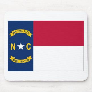 Bandera Mousepad del estado de Carolina del Norte Alfombrilla De Raton