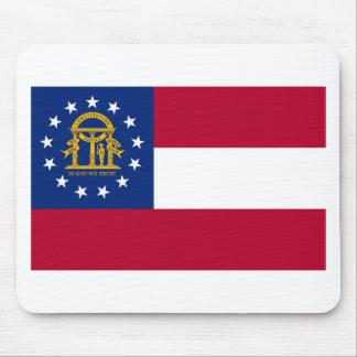 Bandera Mousepad del estado de Georgia Alfombrillas De Ratones