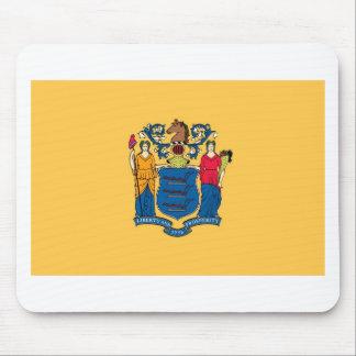 Bandera Mousepad del estado de New Jersey Tapete De Raton