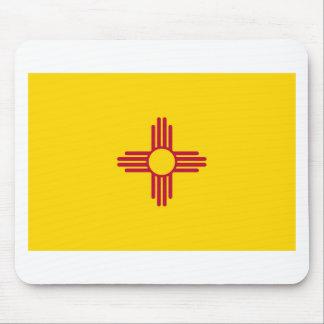 Bandera Mousepad del estado de New México Tapete De Ratón