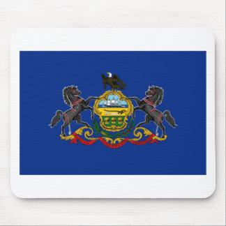 Bandera Mousepad del estado de Pennsylvania Alfombrilla De Raton