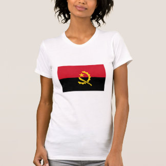 Bandera nacional de Angola Camiseta
