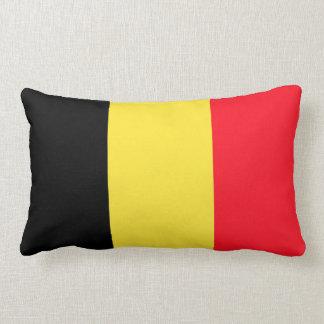 Bandera nacional de Bélgica Cojín Lumbar