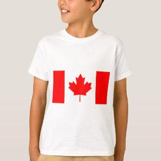 Bandera nacional de Canadá - Drapeau du Canadá Camiseta