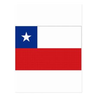 Bandera nacional de Chile Tarjetas Postales