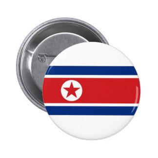 Bandera nacional de Corea del Norte Pins