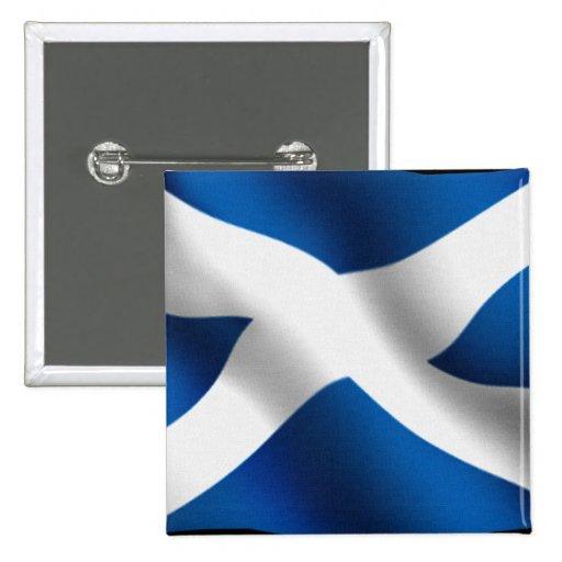 Bandera nacional de Escocia y de St Andrew patriót Pin