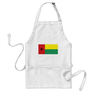 Bandera nacional de Guinea-Bissau Delantal