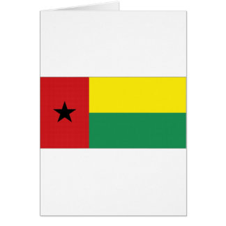 Bandera nacional de Guinea-Bissau Tarjetón