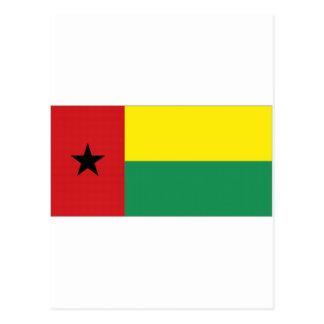 Bandera nacional de Guinea-Bissau Postal