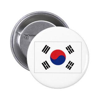 Bandera nacional de la Corea del Sur Pins