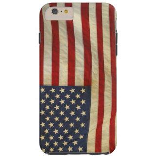 Bandera nacional de los E.E.U.U. - el himno Funda Resistente iPhone 6 Plus