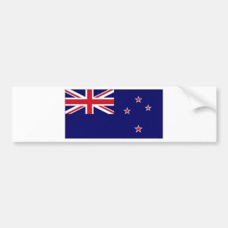 Bandera nacional de Nueva Zelanda Pegatina Para Coche