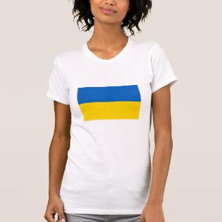 Bandera nacional de Ucrania Camisetas