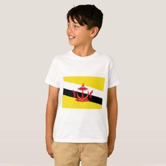 Bandera nacional del mundo de Brunei Camiseta