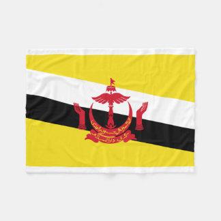 Bandera nacional del mundo de Brunei Manta Polar