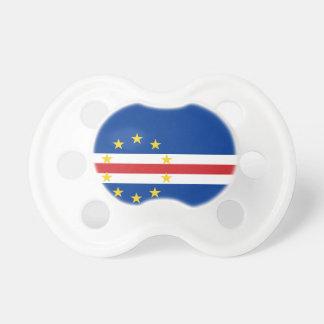Bandera nacional del mundo de Cabo Verde Chupetes De Bebe