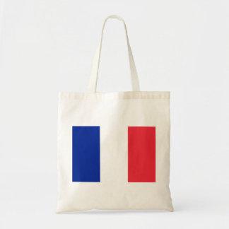 Bandera nacional del mundo de Francia Bolso De Tela
