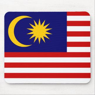 Bandera nacional del mundo de Malasia Alfombrilla De Ratón