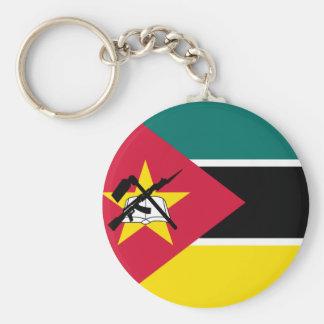 Bandera nacional del mundo de Mozambique Llavero