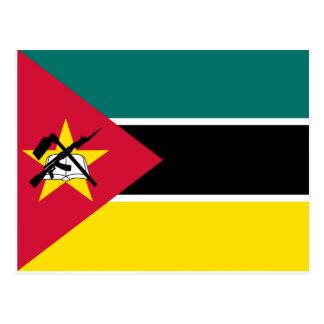 Bandera nacional del mundo de Mozambique Postal