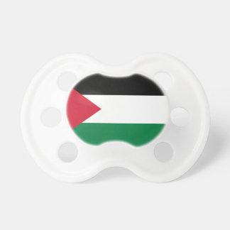 Bandera nacional del mundo de Palestina Chupete