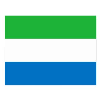 Bandera nacional del mundo del Sierra Leone Postal