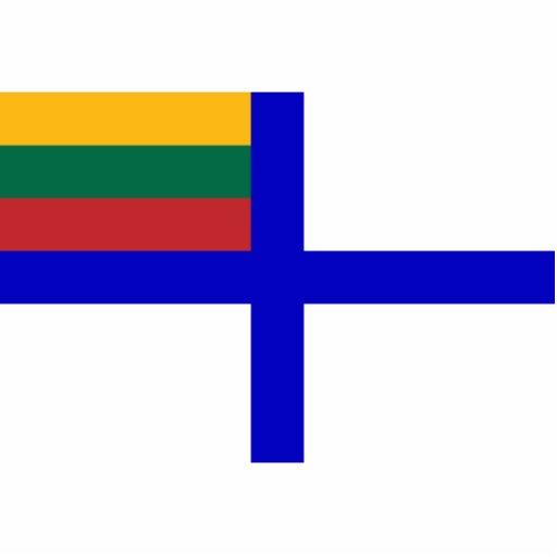 Bandera naval bandera de Lituania, Lituania Escultura Fotografica