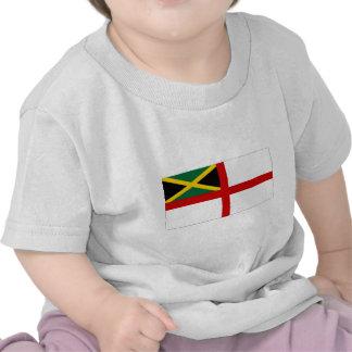 Bandera naval de Jamaica Camiseta