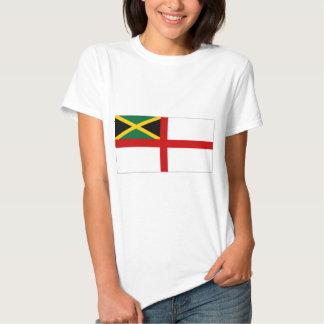 Bandera naval de Jamaica Camisetas