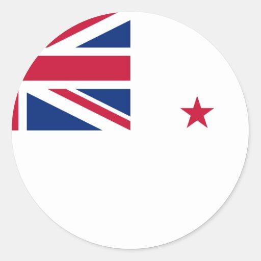 Bandera naval de Nueva Zelanda, Nueva Zelanda Pegatina
