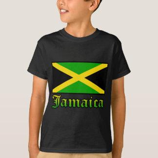 Bandera, negro, verde y amarillo de Jamaica Camiseta