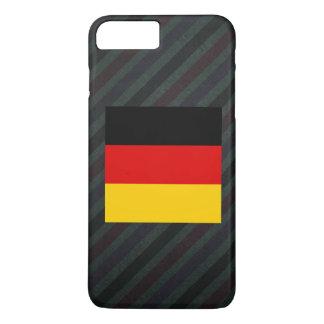 Bandera oficial de Alemania en rayas Funda iPhone 7 Plus