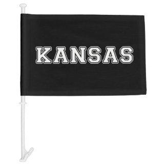 Bandera Para Coche Kansas