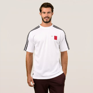 Bandera para hombre de la camiseta de Malta