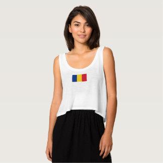 Bandera para mujer de las camisetas sin mangas de